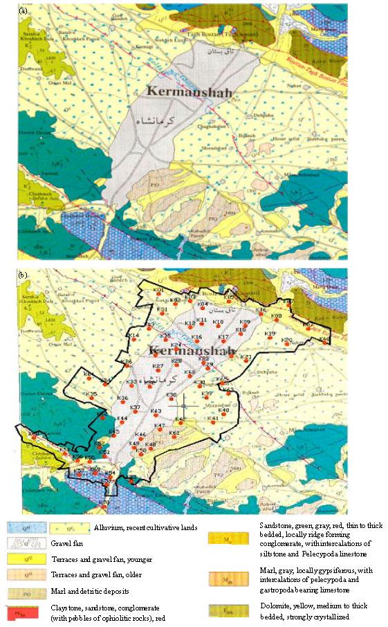 Image for - Site Effect Microzonation and Seismic Hazard Analysis of Kermanshah Region in Iran