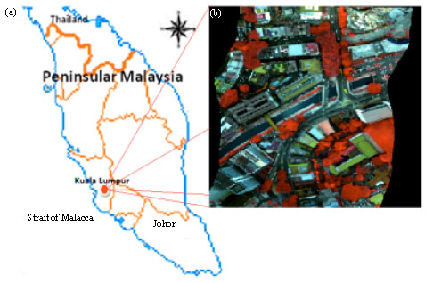 Image for - Effects of Hyperspectral Data Transformations on Urban Inter-class Separations using a Support Vector Machine