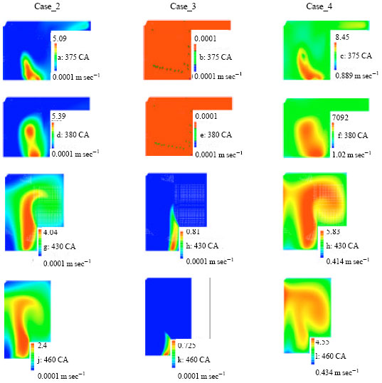 Image for - Investigation of the Effects of Natural Gas Equivalence Ratio and Piston Bowl Flow Field on Combustion and Pollutant Formation of a DI Dual Fuel Engine