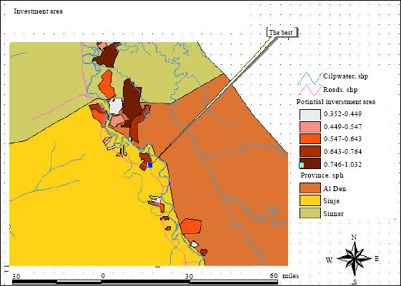 Image for - An Agricultural Investment Map Based on Geographic Information System and Multi-Criteria Method
