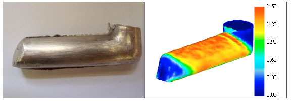 Image for - Investigation of Strain Behavior in the Modified Equal Channel Angular Pressing Die by 3D Finite Element Method