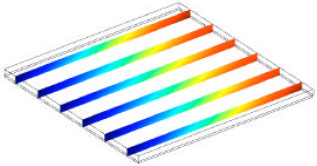 Image for - Numerical Study of Fluid Flow and Heat Transfer in Microchannel Heat Sinks using Anisotropic Porous Media Approximation