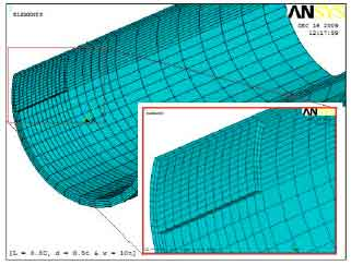 Image for - Burst Strength Analysis of Corroded Pipelines by Finite Element Method