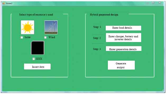 Image for - Optimization of Hybrid Solar and Wind Power Generation