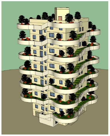 Image for - Vertical Enclosed House with Outside Courtyard: A Design of Unit Residence Adapt to Cultural Psychological Characteristics in Inhabit