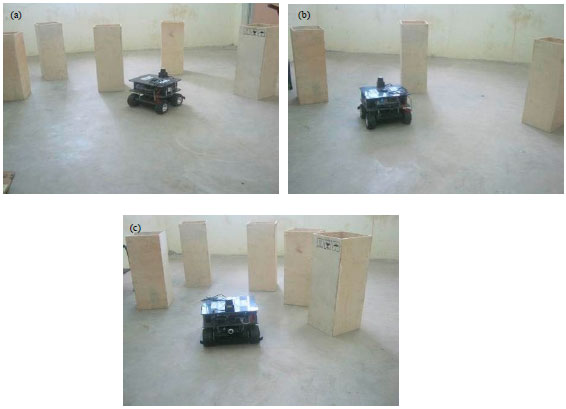 Image for - Fuzzy Based Obstacle Navigation and Effective Path Selection with Laser Range Finder