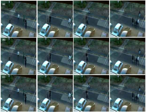 Image for - Object Tracking Based on Particle Filter with Improved Camshift