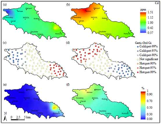 Image for - Spatiotemporal Variation of Heavy Metals Pollution in the Inegol Plain, Turkey