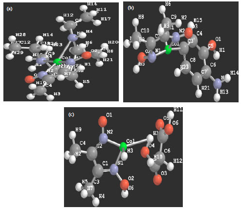 Image for - Quantum Mechanical Characterization of Mixed-Ligand Complex of Co(II) Dimethylglyoxime
